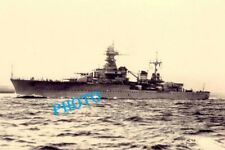 WW2  GUERRE 1940  FRANCE  TOULON  cuirassé Le  Gloire Bateau guerre Marine Ship