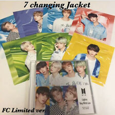 BTS Lights Boy with Luv FC 7 Changing Jacket Japan FC limited ver. CD Official