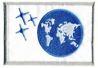 SAAB  Space: Above & Beyond Embroidered Patch --  Earth Flag