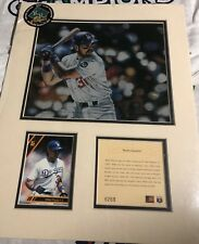 Mike Piazza Kelly Russell Sports Lithograph #6269 of 12,500 in Original Plastic