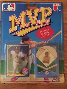 1990 Bernie Williams Baseball MVP PIN vintage SCORE ROOKIE CARD Yankees - QTY