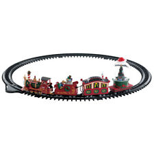 LEMAX CHRISTMAS TOWN House/Village Sight & Sound - NORTH POLE RAILWAY Train Set