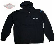 SPARCO SP04100NR3L WWW Hooded Sweat Shirt; Zip-Up Universal