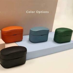 for sony WF-1000XM4 Wireless Earbuds PU Leather Case Pouch Cover Bag