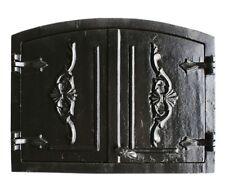 Ofentür Brotofentür Holzofentür Ofen Gußeisen Steinofentür Tür 55 x 41 cm