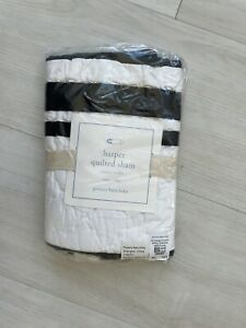 NWT Pottery Barn Harper quilted sham