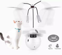 Interactive Laser Cat Toy Automatic Spinning Sound Stimulating Exercise Tumbler