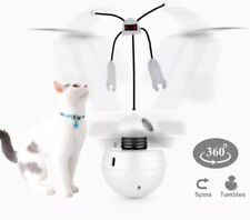Interactive Laser Cat Toy Automatic Spinning Stimulating Exercise Tumbler