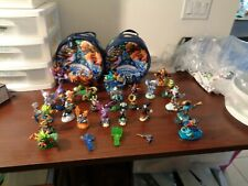 Large lot of Skylander Figures Crystals Cases magnetic figures LOOK