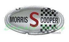 Classic Mini New Plastic Mk2 Morris Cooper S bonnet badge Insert