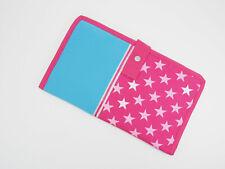 Tasche Mappe für Mini Lük Kontrollkasten + Bücher Softshell Sterne Handarbeit