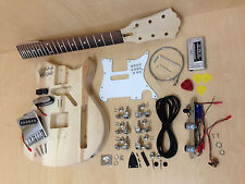 Complete No-Soldering 3/4 Size Short Scale TE Style Electric Guitar DIY Kit-Ei38