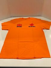 JUICE WRLD 999 Suzuki XL T-Shirt Orange Death Race Barbed Wire RIP NTWRK RARE !!