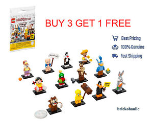 Lego Looney Tunes 71030 Collectible Minifigures Bugs Wile Daffy Marvin YOU PICK