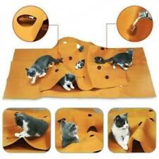 Katze Spielteppich Spielmatte Kratzmatte Katzenhöhle Interaktive Katzenspielzeug