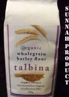 Talbina wholegrain barley flour 100% organic 500g porridge like x3