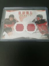 2015-16 Upper Deck UD Team Canada Juniors CONNOR MCDAVID Dual CROUSE Jersey