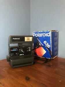 Vintage POLAROID Close-Up 636 Instant Film Camera *FUNCTIONING*