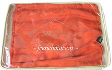 FRETTE ITALIAN Luxury CASHMERE SILK Orange Shawl Scarf Wrap Throw New from Italy