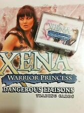 XENA*WARRIOR PRINCESS*DANGEROUS LIAISONS* TRADING CARD BASE SET RITTENHOUSE MINT