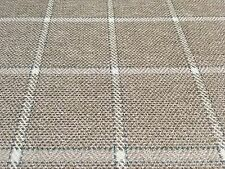 Colefax & Fowler Checked Upholstery Fabric- Linsmore Check Stone 4.5 yd F4239-03