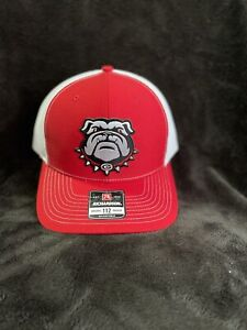 Georgia Bulldogs Patch Hat Richardson 112 Trucker Red And White