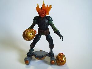 Mad Jack O´Lantern  Flame & Launch Marvel Spider-Man ToyBiz 6 Inch Figure 2006
