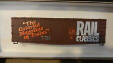 Roundhouse MDC HO Rail Classics Old Time Fishbelly Underframe Boxcar Kit, NIB