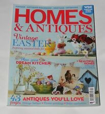 HOMES & ANTIQUES MAGAZINE APRIL 2012 - EASTER LOOKS/VINTAGE FASHION