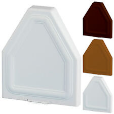 EUROCELL CONSERVATORY ROOF GLAZING BAR END CAP ROOF SPAR RAFTER CRS-8201 WHITE