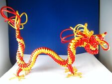 "HAND KNITTED ""DRAGON"" STATUE FOR HOMES,OFFICES, RESTRAUANTS, ROOMS DECORATIONS!"