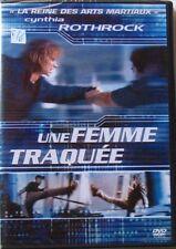 DVD UNE FEMME TRAQUEE - Cynthia ROTHROCK - NEUF