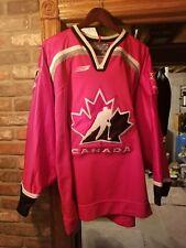 1998 Nagano Team Canada NikePro Jersey Size 52