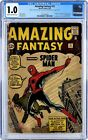 Amazing Fantasy #15 (September 1962 Marvel) CGC 1.0 SIGNED BY STAN LEE!!!