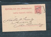 545225 / Paraguay Ganzsache