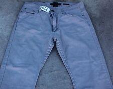 VINTAGE SLIM STRAIGHT Jean Pants for Men - W34 X L31. TAG NO. 61d