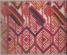 Lateral breadth of a ceremonial blouse from Santa Maria de Jesus Postcard
