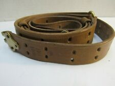 Wwi Us M1907 Leather Sling M1903 Springfield Marked Hoyt 1917 Repro M1917
