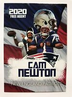 2020 Cam Newton New England Limited Edition Rookie Gems Card