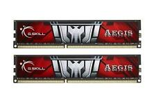 16GB G.Skill Aegis DDR3 PC3-12800 1600MHz Dual Channel CL11 Low-voltage 1.35V