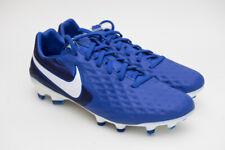 Nike Tiempo Legend 8 Pro FG Soccer Cleats Royal Blue Men's Size 9 AT6133-414