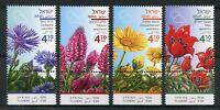 Israel Nature Stamps 2018 MNH Spring Flowers Chrysanthemum Tulips Flora 4v Set