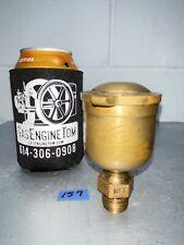 Brass Lunkenheimer No 7 Flip Top Grease Cup Hit Miss Gas Engine Steam Antique