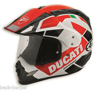DUCATI Arai STRADA TOUR V3 Tour-X 4 Enduro Helm Helmet schwarz rot NEU !!