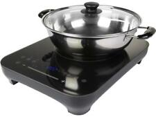 """Midea Induction Cooktop with 9"""" Saute pan glass lid Mind179St-B"""