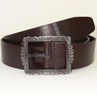 DIESEL Belt 'BIFRAME Cintura' NEW Mens Belt 100% Cow Leather! ITALY Size 38''/95