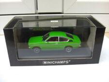 Opel Kadett C coupe 1973-77 green Minichamps 430045620 MIB 1:43 astra vauxhall