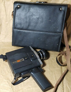 Aurora-215 Collectible Super-8mm Movie Camera