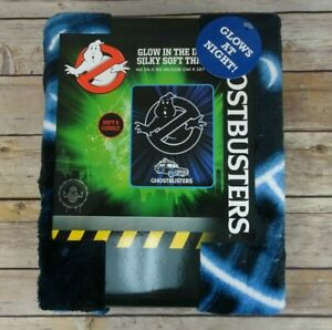 """Ghostbusters: Afterlife Kids Silky Soft Throw, GLOW-IN-THE-DARK, 46"""" x 50"""""""