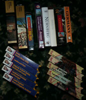 18 VHS VCR video movie tape lot Travel Rick Steves Europe Fodors Germany France